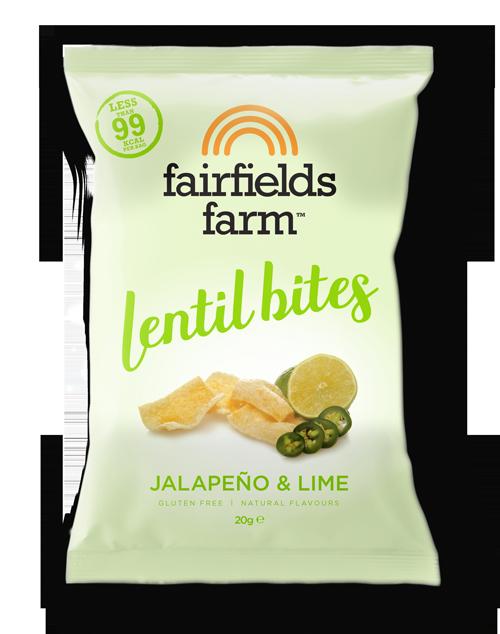 Fairfields Farm Lentil Bites 20g Bags