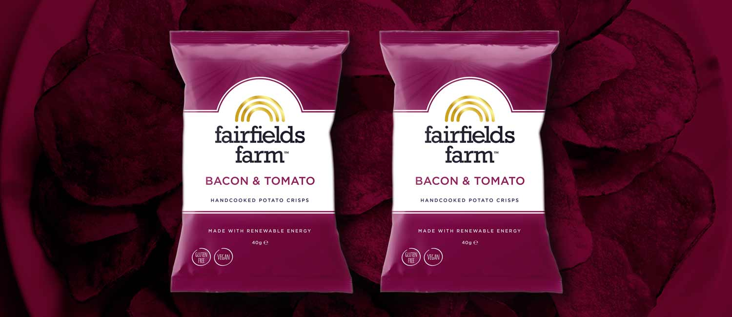 Retail Times Article: Fairfields Farm launches new Bacon & Tomato Crisps