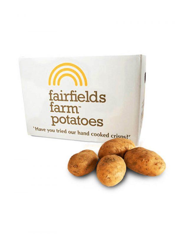 15kg Unwashed Box Potatoes