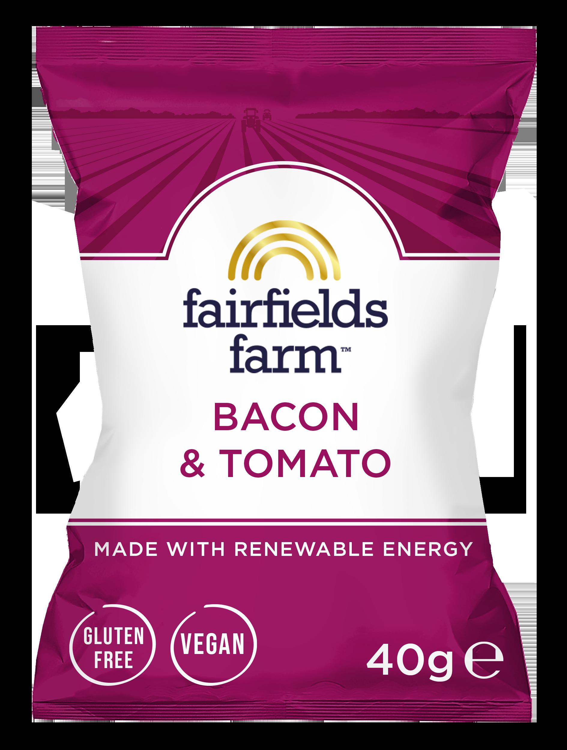 Fairfields 24 x 40g Bags – Bacon & Tomato