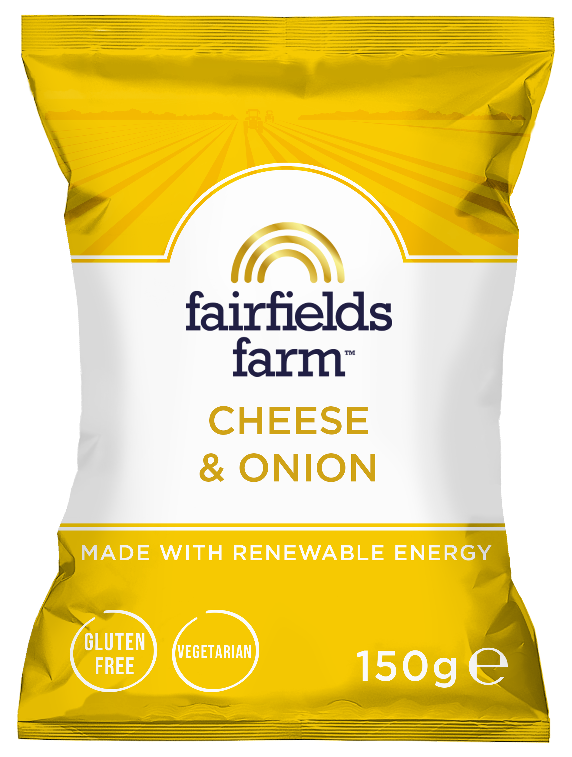 Fairfields 12 x 150g Bags – Cheese & Onion