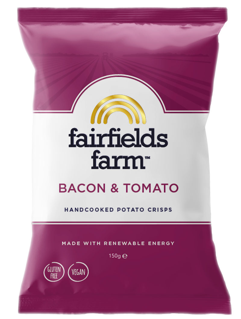 Fairfields 12 x 150g Bags – Bacon & Tomato