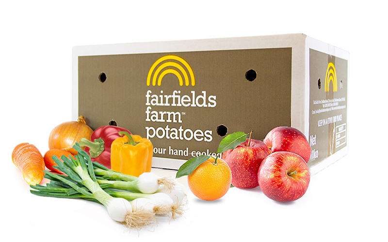 Fresh Fruit & Veg Box with Free Delivery Nationwide