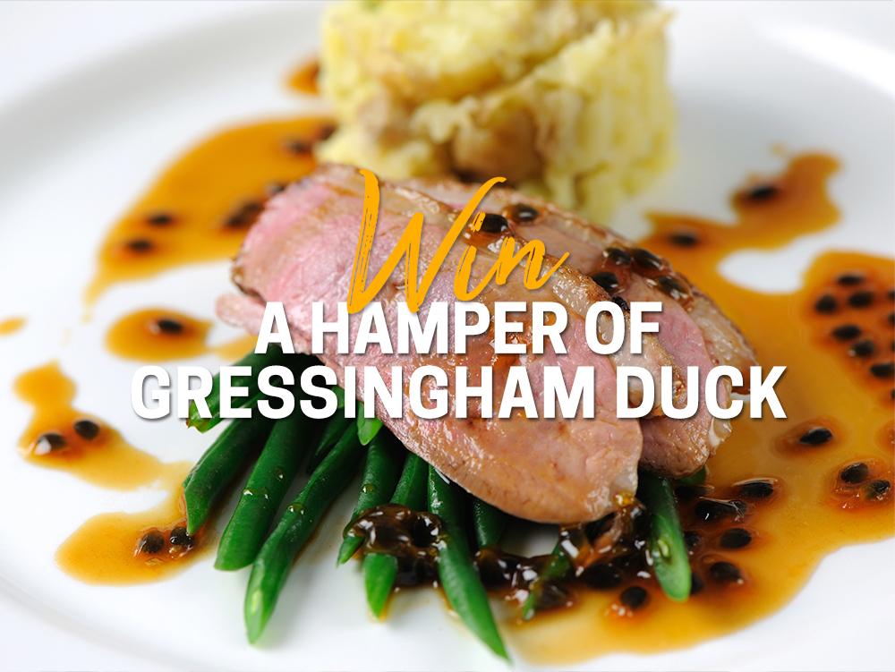 WIN A Hamper of Gressingham Duck
