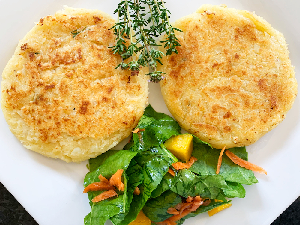 New Recipe: Mashed Potato Cakes