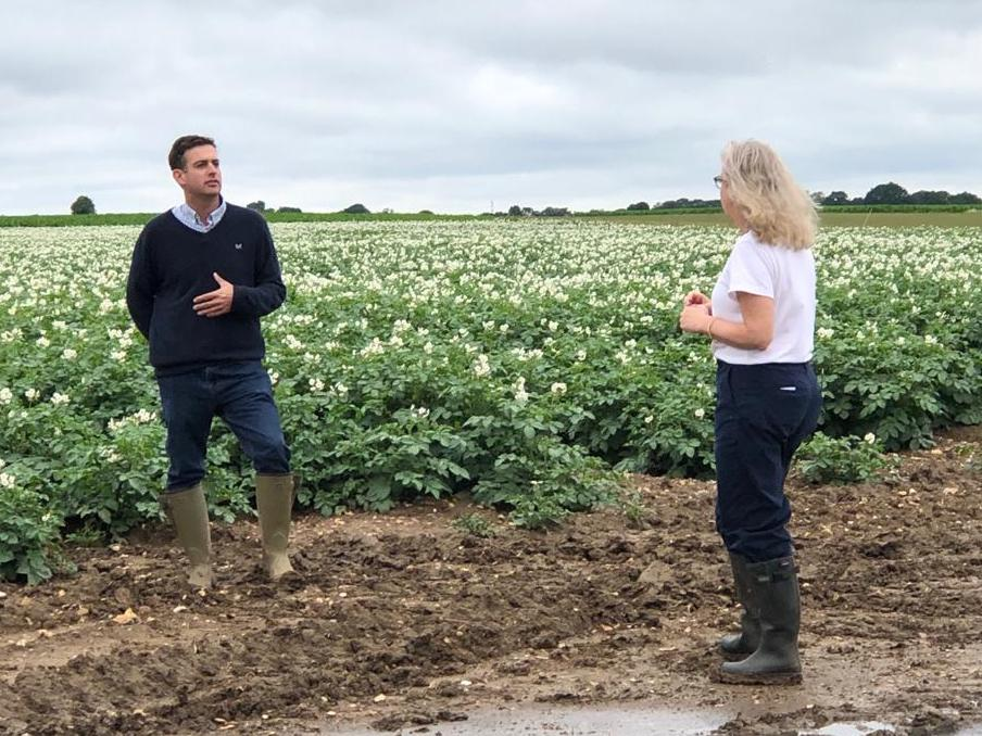 BBC's Countryfile visits Fairfields Farm