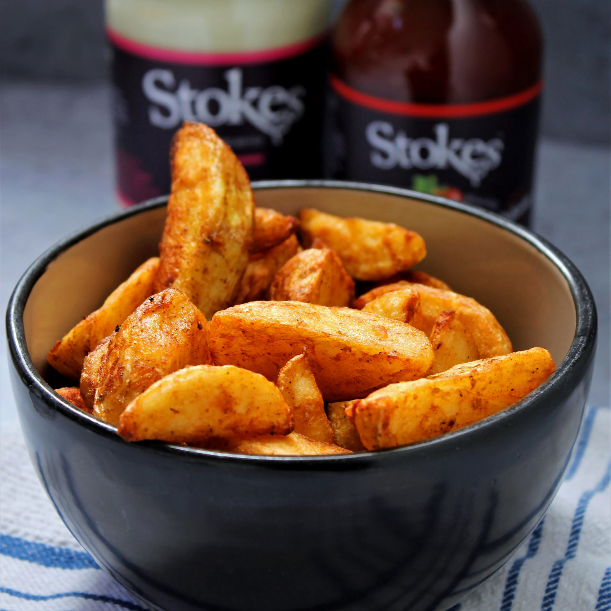 Ultimate crispy potato wedges