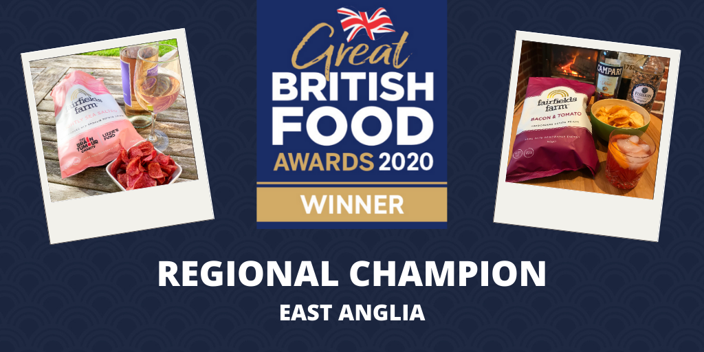 Fairfields wins best in East Anglia at Great British Food Awards 2020