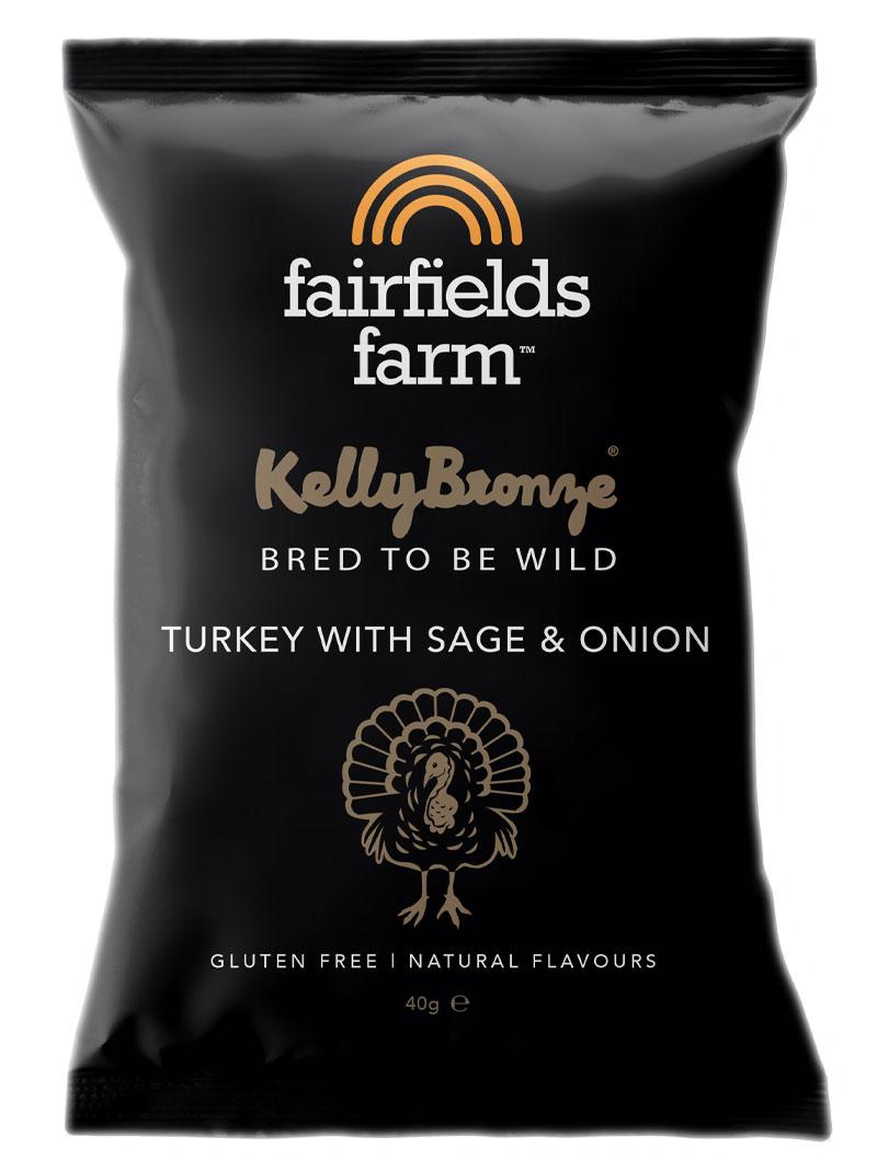 Fairfields 24 x 40g Bags – Kelly Bronze Turkey with Sage & Onion