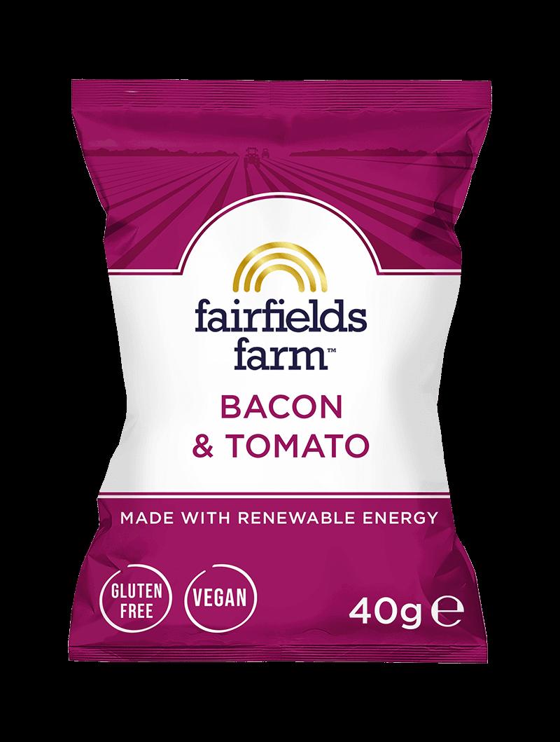 24 x 40g Bags – Bacon & Tomato