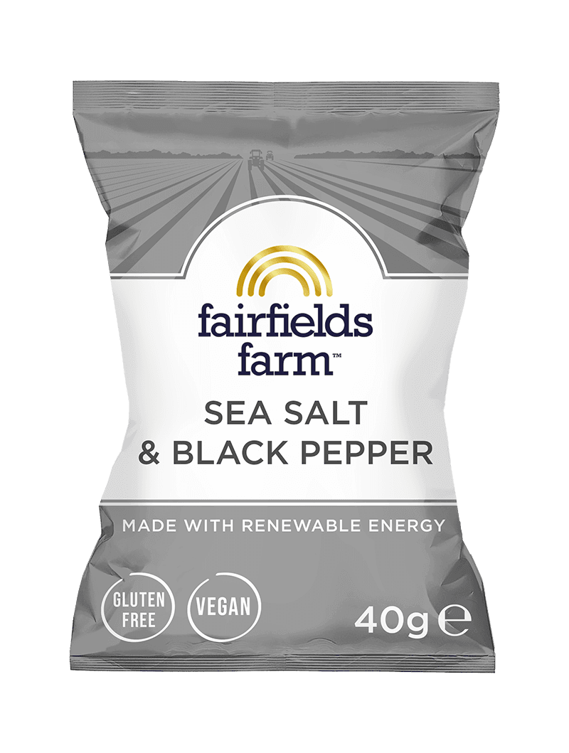 24 x 40g Bags – Sea Salt & Black Pepper