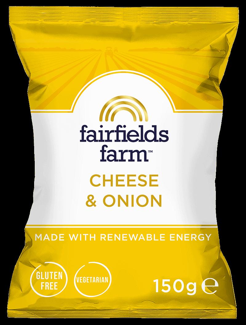 12 x 150g Bags – Cheese & Onion