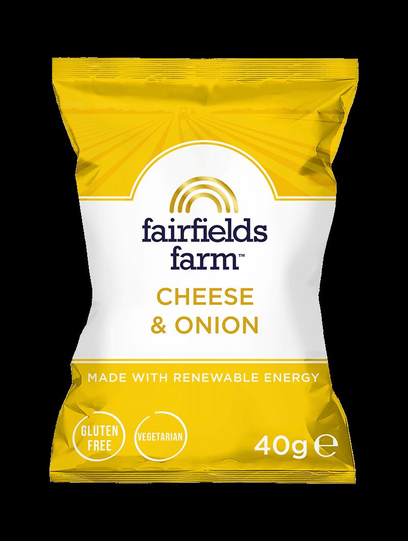 24 x 40g Bags – Cheese & Onion