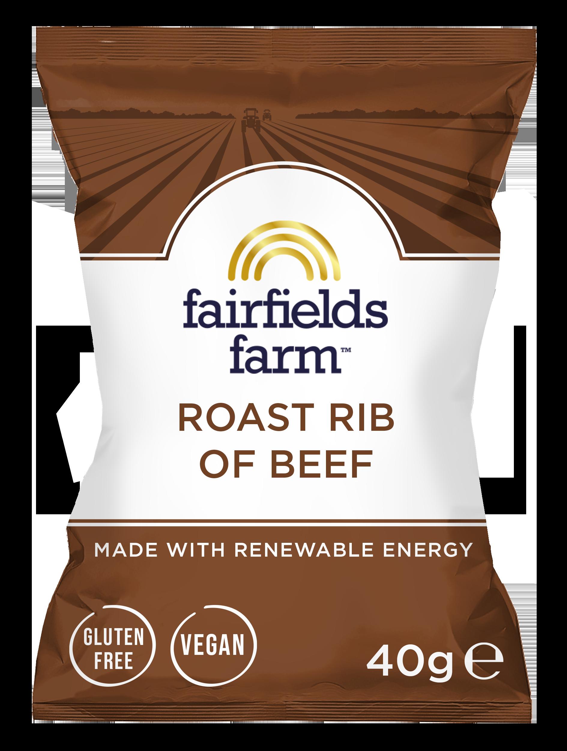Fairfields 24 x 40g Bags – Roast Rib Of Beef