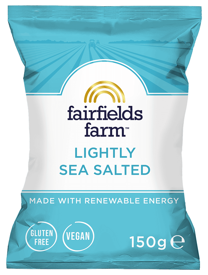 12 x 150g Bags – Lightly Sea Salted