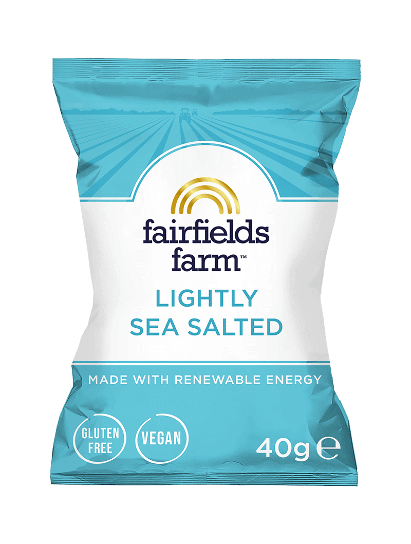 24 x 40g Bags – Lightly Sea Salted