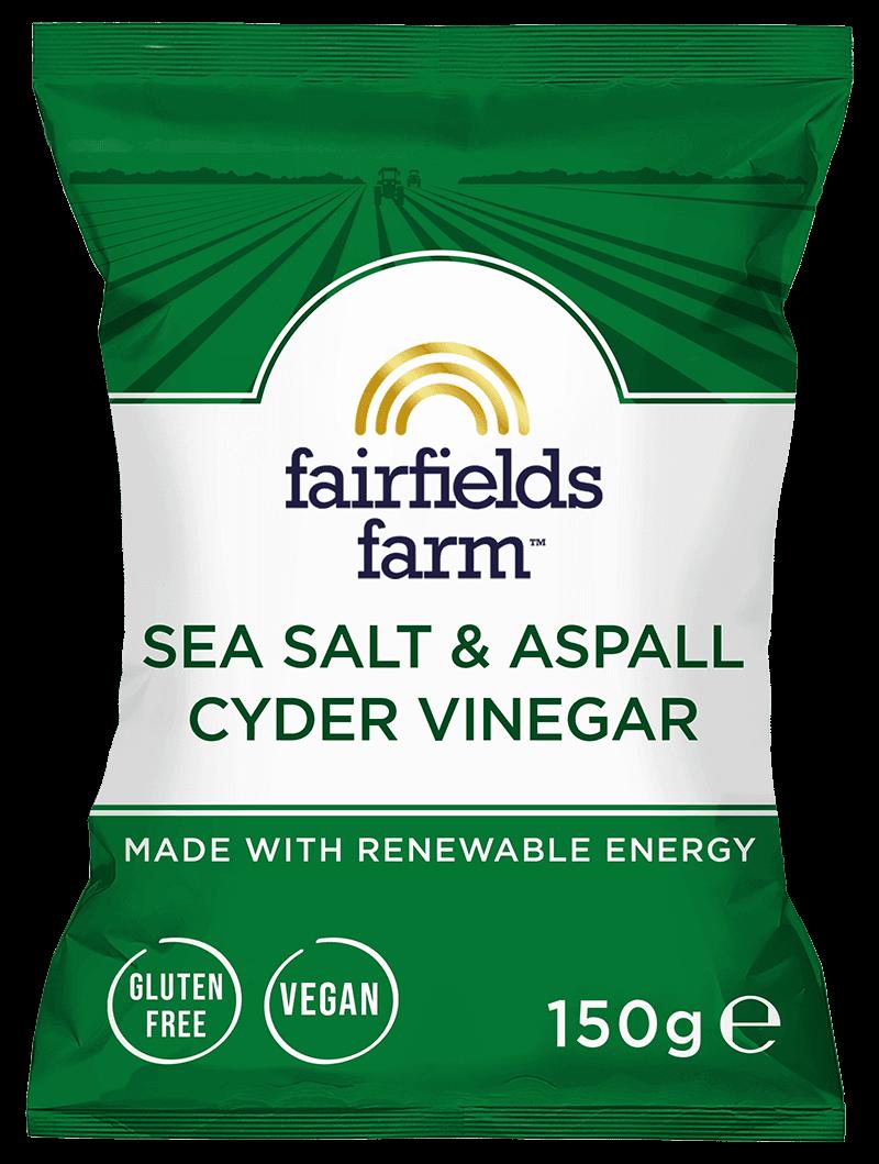 12 x 150g Bags – Sea Salt and Aspall Cyder Vinegar