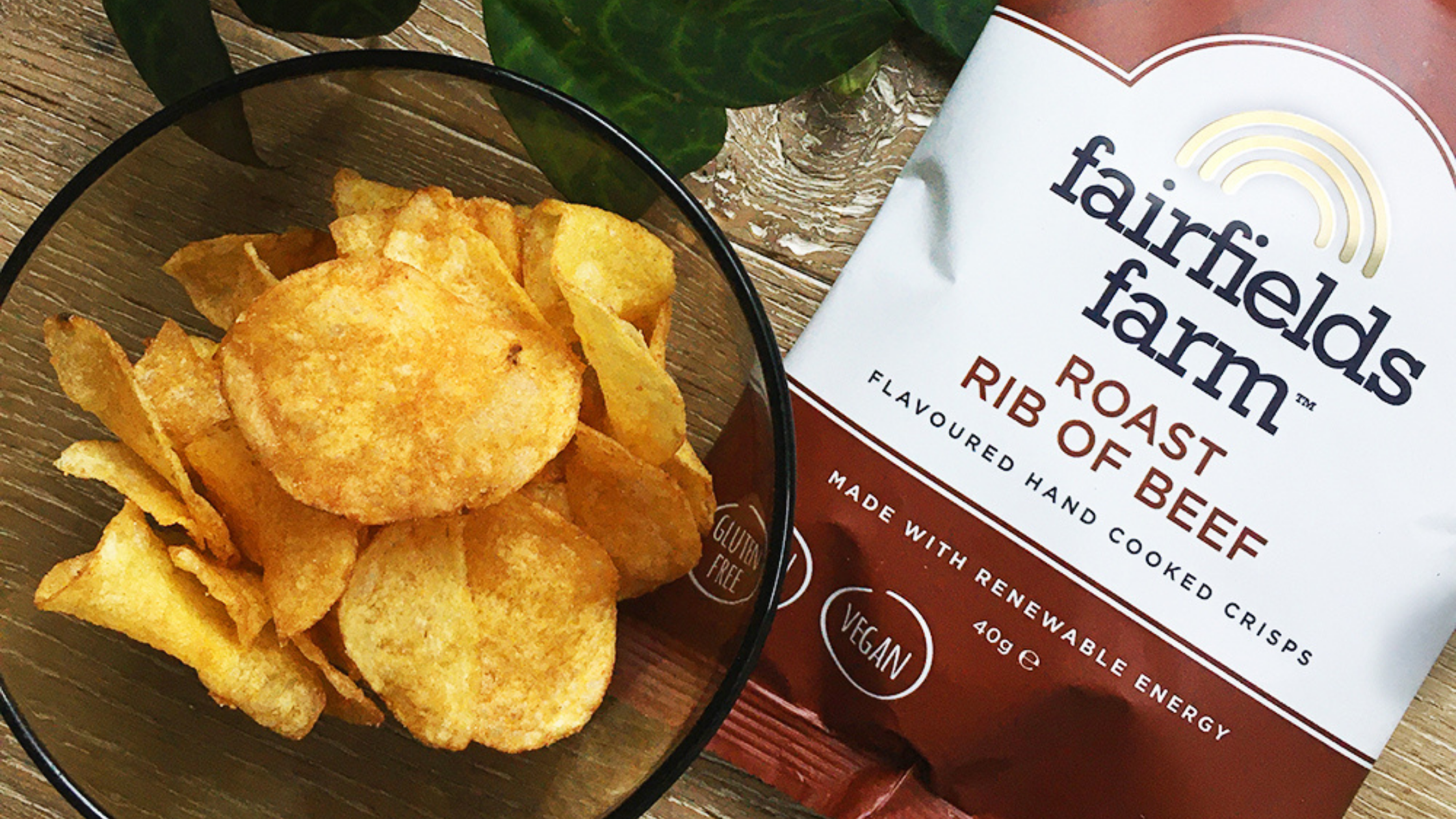 NEW FLAVOUR ALERT: Roast Rib of Beef Crisps