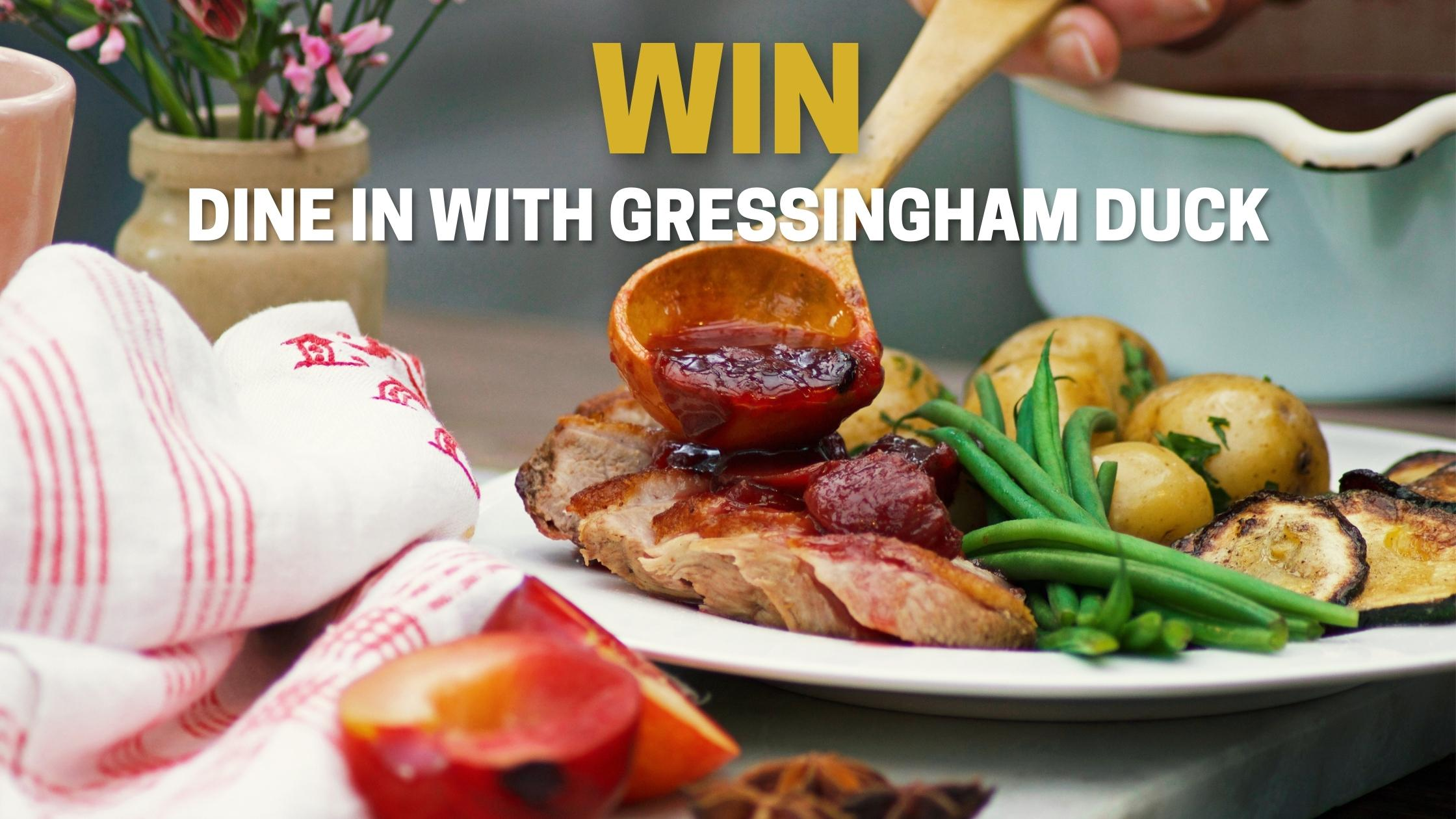 WIN – Dine in with Gressingham Duck & Fairfields Farm