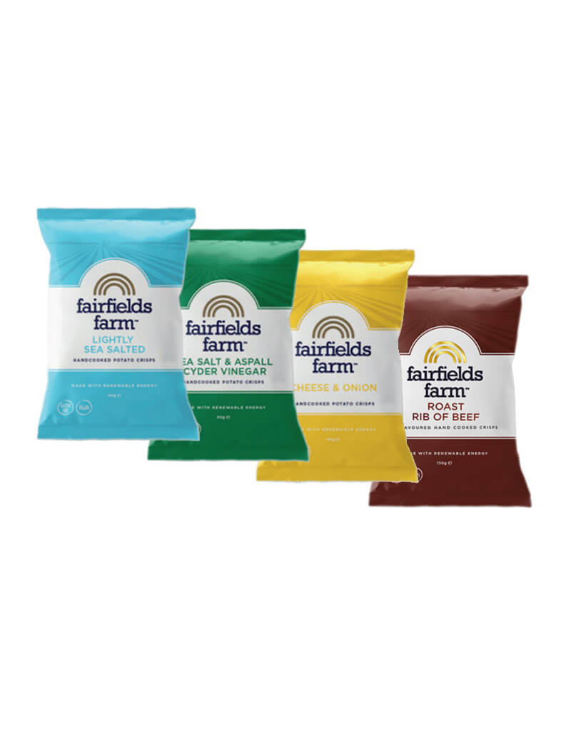 Fairfields 12 x 150g Bags – Mixed Flavours