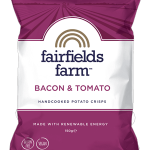 Fairfields Farm Bacon & Tomato Crisps