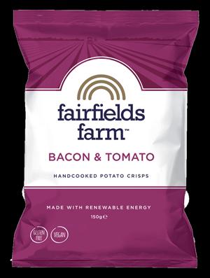 Fairfields Farm Bacon & Tomato Crisps