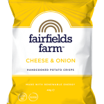 Fairfields Farm Cheese & Onion Crisps