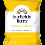 Fairfields Farm Cheese & Onion Crisps