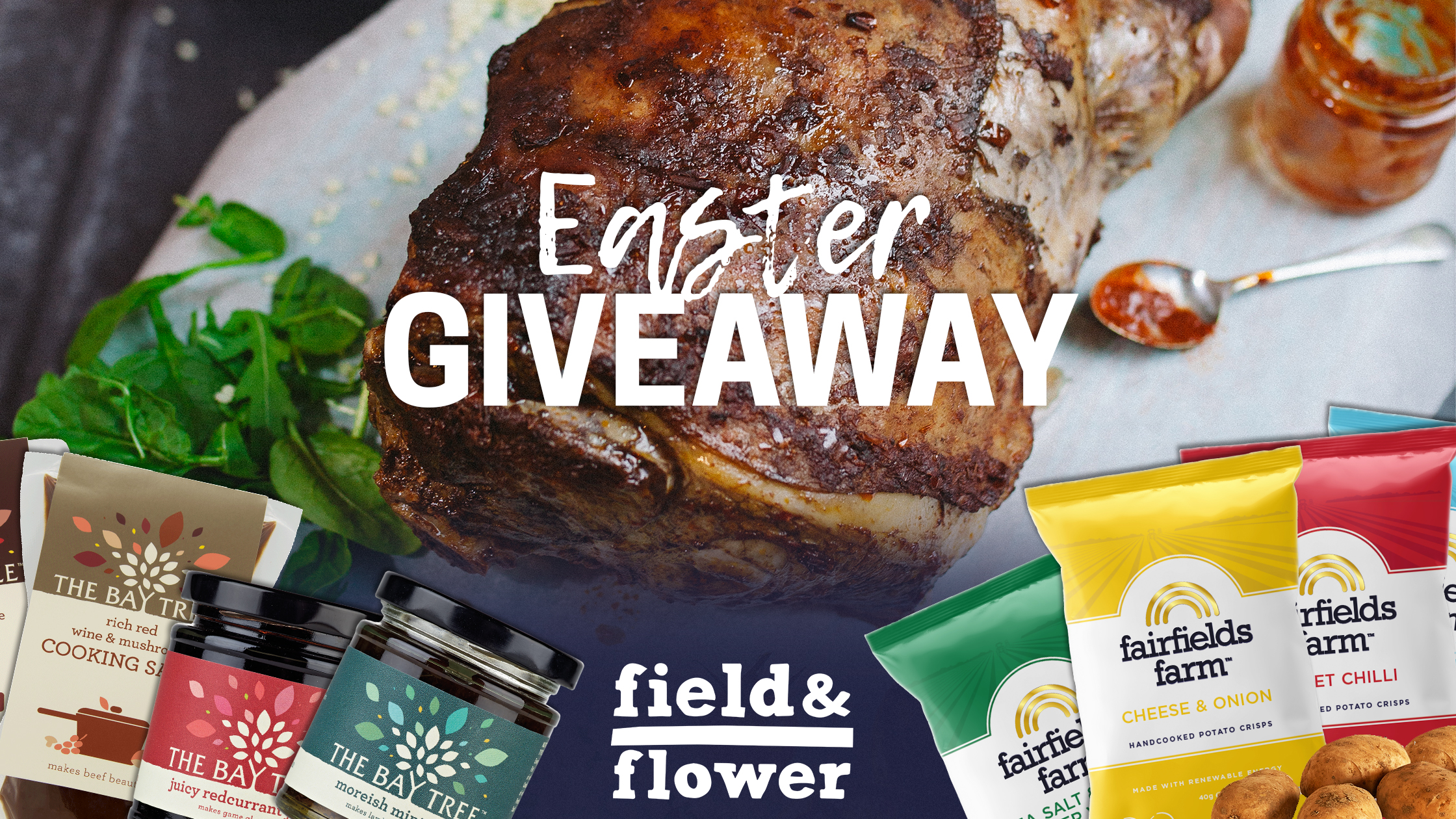 Easter Giveaway with field&flower and The Bay Tree