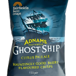 Adnams Ghost Ship Fairfields Farm Crisps