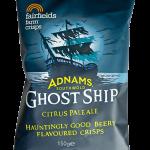 Adnams Ghost Ship Fairfields Farm Crisps