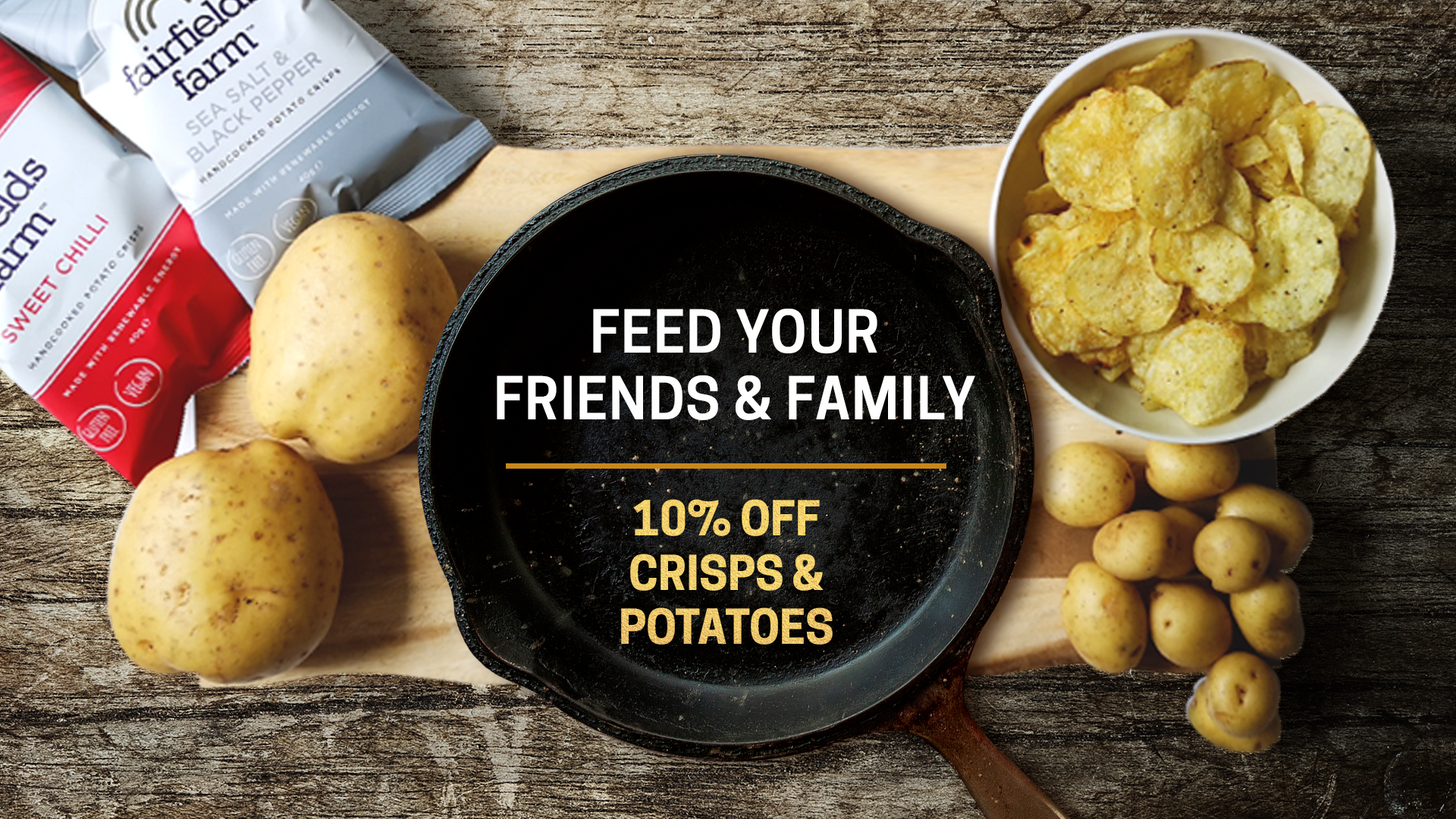 10% Off to Feed Your Friends & Family