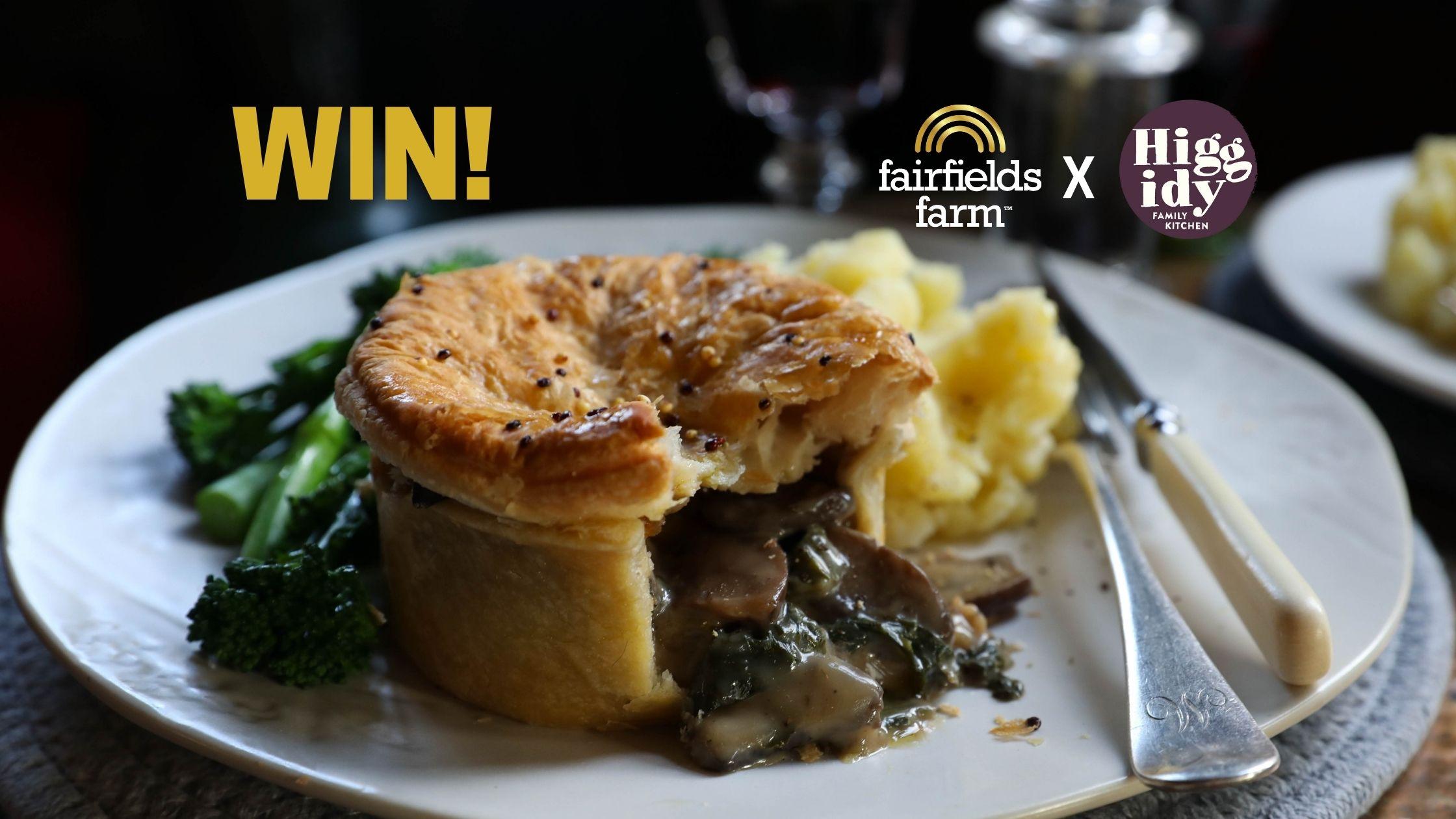 WIN Fairfields Farm x Higgidy Perfect Pie & Mash